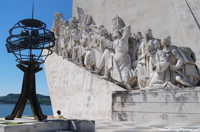 Explorers on the monument, Lisbon