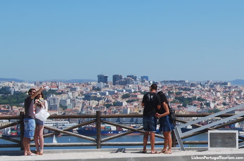 View of Lisbon from Cristo Rei